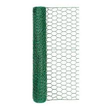 Handy Roll Green Vinyl Coated Poultry Netting Chicken Wire With 1 In Mesh 24 In H X 25 Ft L 172425 At Tractor Supply Co