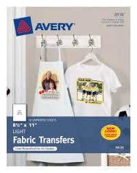Avery T Shirt Transfers 18 Transfers 8938 Avery Com