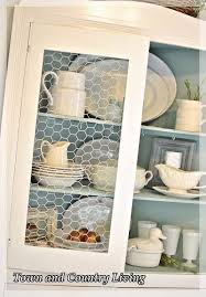 replacing glass in a cabinet with