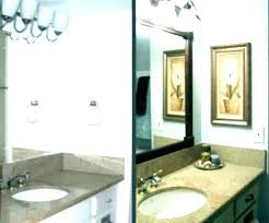 bathroom mirror round bathrooms