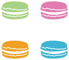 Macarons Pattern Set Of 20 Contemporary Wall Decals By Dana Decals