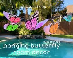 Butterfly Room Decor Etsy