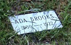 Ada Brooks (1900-1926) - Find A Grave Memorial