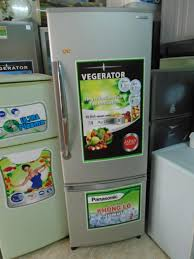 Bán tủ lạnh Panasonic 250L, giá 2,4 triệu, ngăn đá dưới - chodocu.com