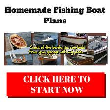 homemade fishing boat plans