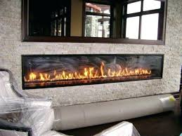 stunning indoor outdoor gas fireplace