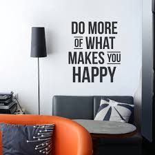 Do More Happy Wall Decal Quote Wallums Wall Decor