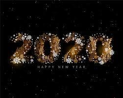 happy new year 2020 creative decorative