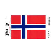 Norway Flag Vinyl Car Decal Scandinavian North