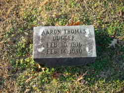 Aaron Thomas Dugger (1916-1940) - Find A Grave Memorial