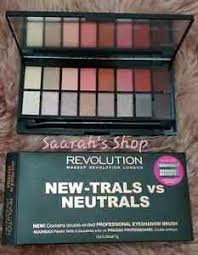 revolution eyeshadow palette new trals