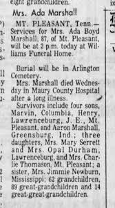 Ada Boyd Marshall, 11 Jul 1975 - Newspapers.com