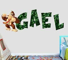 Home Garden Kong Skull Island Smashed Wall Decal Wall Sticker Art Mural King Kong H967 Children S Bedroom Boy Decor Decals Stickers Vinyl Art
