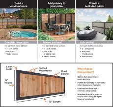 Outdoor Essentials 2 Ft X 6 Ft Pressure Treated Dura Color Sonoma Wood Fence Panel With Black Frame 311444 The Home Depot Wood Fence Wood Fence Design Outdoor Essentials
