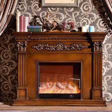 rustic wooden indoor fireplace mantels