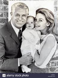 CARY GRANT with Dyan Cannon and daughter Jennifer Grant in ...