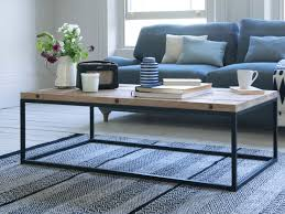 industrial style coffee table poste
