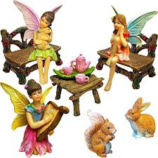 fairy garden miniature figurines