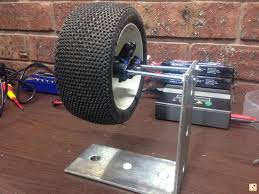 anyone made a homemade wheel balancer