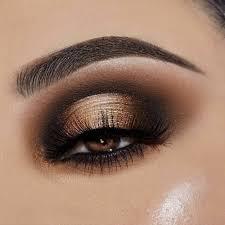 glamorous gold eyeshadow looks