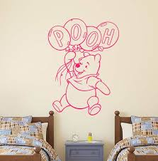 Decal House Winnie The Pooh Balloon Wall Decals Wayfair