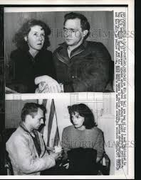 Portland, Ore. Charles & Eddie Snyder & wifes held for bombs 1960 Vintage  Press Photo Print | Historic Images