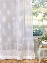 sheer curtain panels