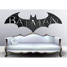 Shop Full Color Batman Logo Full Color Decal Batman Symbol Full Color Sticker Wall Art Sticker Decal Size 22x35 22 X 35 Overstock 14386843