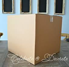 diy decorations with boxes