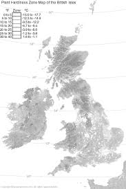 plant cold hardiness zone map of the