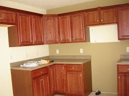 kitchen tile backsplash cherry cabinets