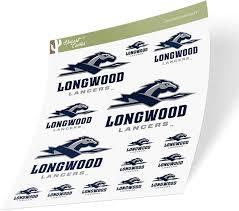 Amazon Com Longwood University Lancers Ncaa Sticker Vinyl Decal Laptop Water Bottle Car Scrapbook Sheet Type 3 1 Arts Crafts Sewing