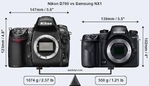 Nikon D700 vs Samsung NX1 Comparison Review