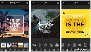 aplikasi pembuat quotes terbaik untuk android terbaru gratis