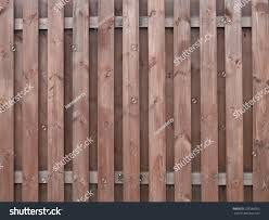 Texture Old Rustic Fence Painted Brown Stock Photo Edit Now 225566902