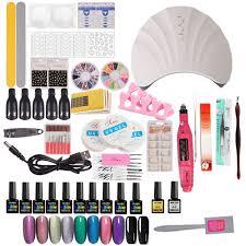 acrylic nail kit gel varnish polish