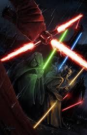 digital art star wars lightsaber