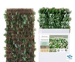 Natrahedge Expandable Faux Ivy Privacy Fence