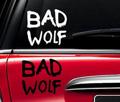 Doctor Who Decal Dr Who Decal Bad Wolf Inspired Car Decal Macbook Decal Laptop Decal Macbook Sticker Ipad Sticker Laptop Decal Macbook Decal Macbook Stickers