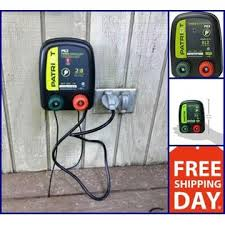New Electric Fence Energizer 0 1 J Pe2 Patriot Charger Keep Out Small Animals