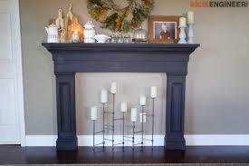 faux fireplace mantel surround rogue
