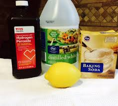 mold with homemade floor cleaner