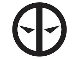Deadpool Symbol Cross Swords 2 Vinyl Decal Susan N Underwoodeh