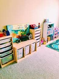 I Was Tired Of Seeing Toys Everywhere And Realized Something Needed To Change Kids Toy Organization Kids Room Organization Organization Kids
