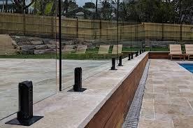 Zero Edge Frameless Glass Pool Fencing Pool Safety Fence Installation