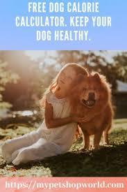 free dog calorie calculator best pet