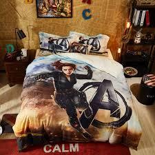 the avengers black widow comforter set