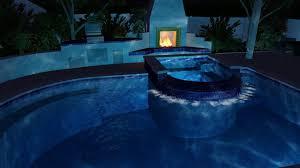 3d pool design custom geometric pool