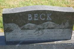 Fay E Cothern Beck (1916-1997) - Find A Grave Memorial
