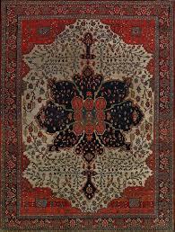 antique persian faharan sarouk rug